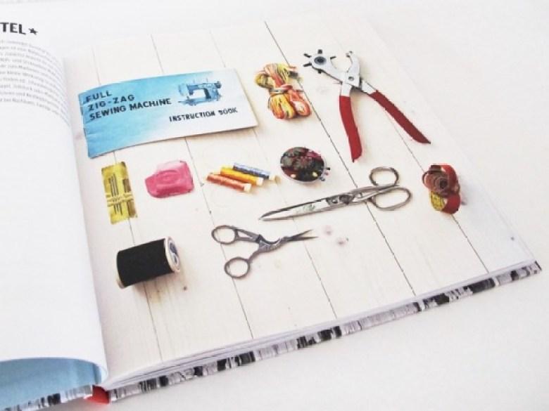 Upcycling mit Nähmarie, Buch, Upcycling, Ideen, Basteln, Nähen, Bastelbuch, Werkzeug