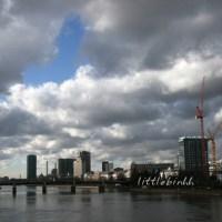 Frankfurter Skyline, Frankfurt am Main Wolkenkratzer
