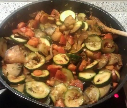 Gemüse Zucchinie Karotte Aubergine Vegan Rezepte