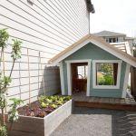 Side Yard / Cutest little playhouse ever