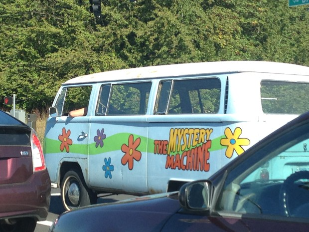 The Mystery Machine in PDX