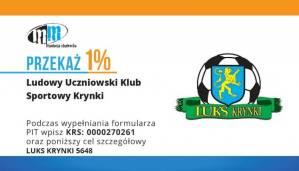 Przekaż 1% na LUKS Krynki