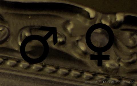 火星記号 金星記号
