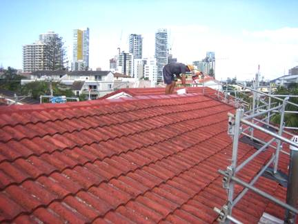 Highrise Building Roof Repairs