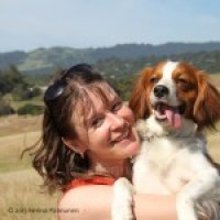 """Waterbound First Class Flight """"Amica"""" - CGC, CALOES certified wilderness life find SAR dog"""