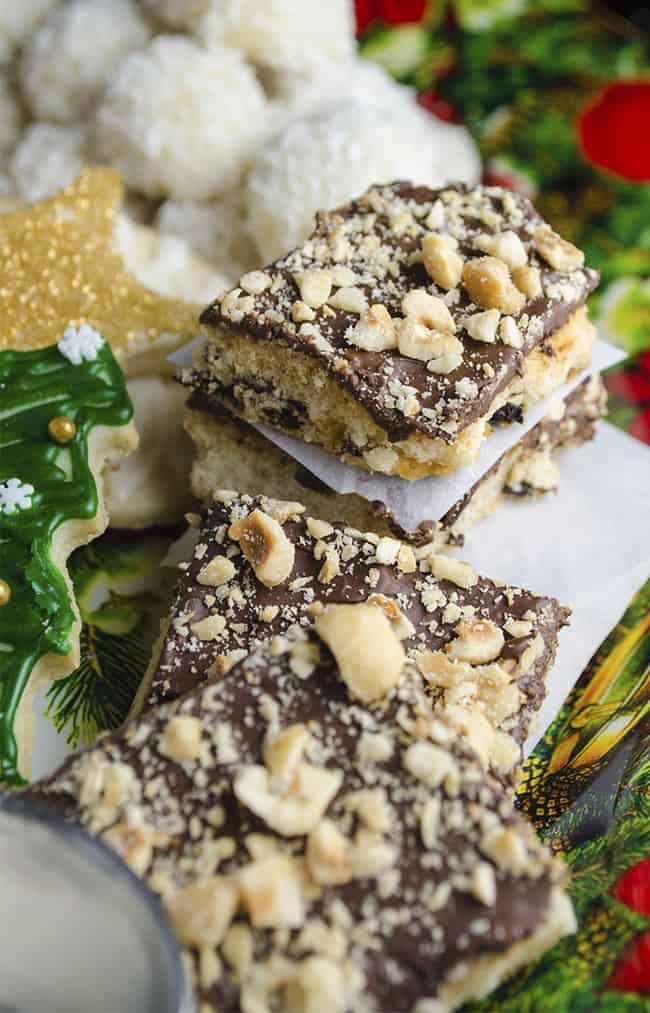 Chocolate-Cherry Hazelnut Bars • The Goldilocks Kitchen