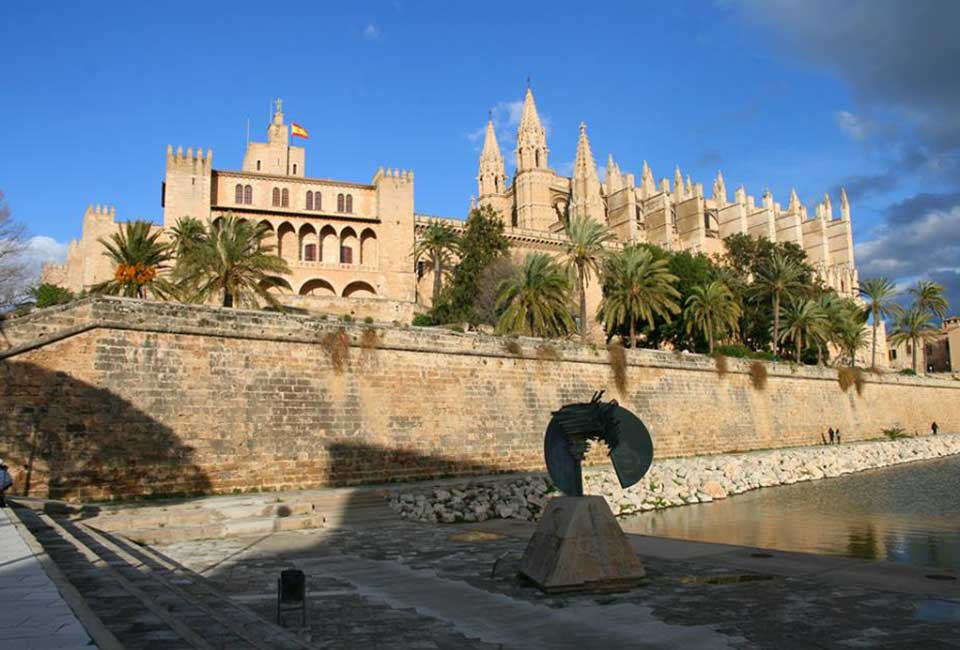 Cathedrale Palma Majorque Baleares