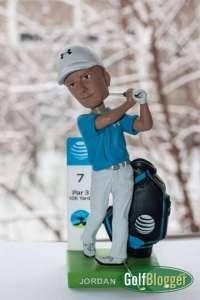 Jordan Spieth Bobblehead Given Away At The AT&T Pebble Beach Pro-Am