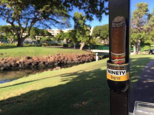Ninety Degree Wedge Magnetic Cigar Holder