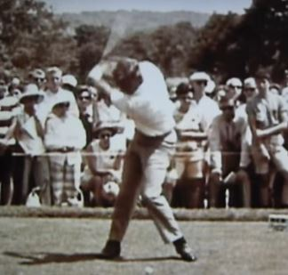 Arnold Palmer's Swing In Slow Motion
