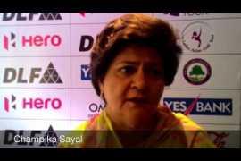 Champika Sayal on HWIO2015