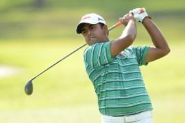 Anirban Lahiri shot an even 71 in the third round of the Phoenix Open