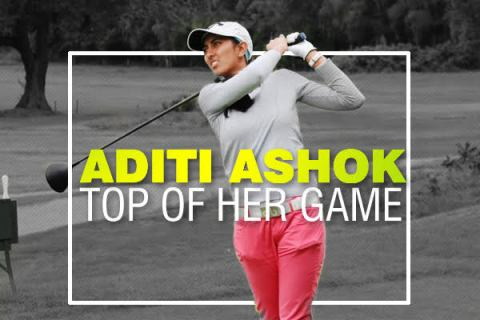 Aditi Ashok is doing very well on the Ladies European Tour