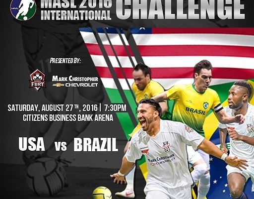 Watch the USA vs Brazil International Challenge on Go Live Sports Cast live streaming soccer