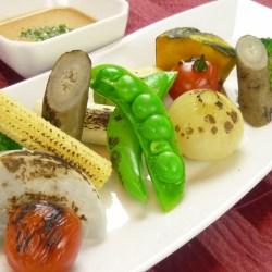 季節野菜のオーブン焼きジェノバ風