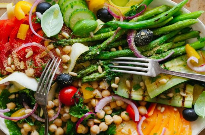 Summer Greek Salad | Golubka Kitchen