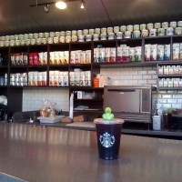 Lucky Duck is sad - Starbucks Eastlake is forced to take down our mug collection
