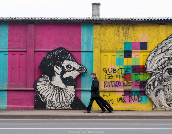 The amazing street art at Zagreb // Photos and stories from a week in Croatia // Memories from the Balkans // Dubrovnik, Split, and Zagreb