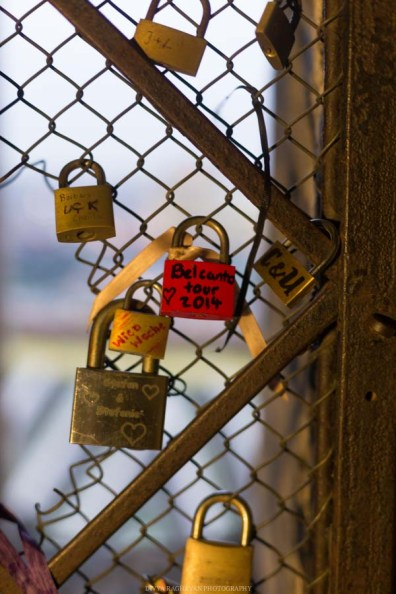 If you like it, then put a love-lock on it.