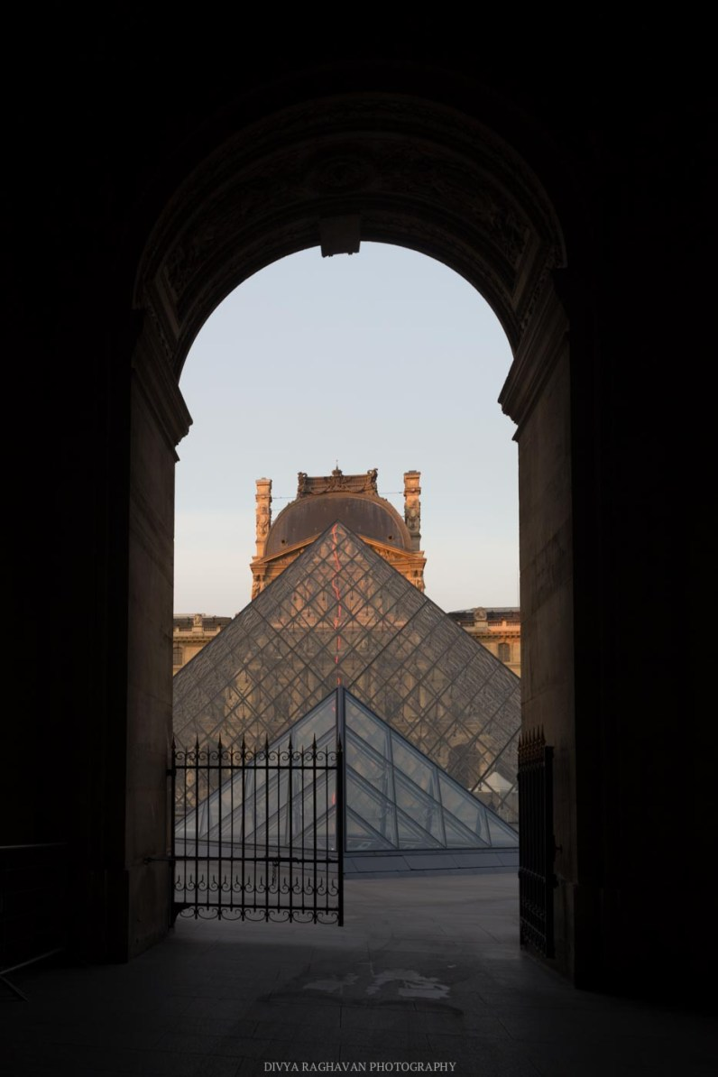 Sunrise at Louvre, Paris, France || Paris in two days, a complete guide and itinerary to the city of lights in France.