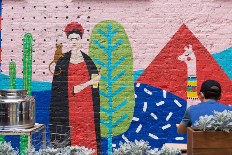 Frida Kahlo street art, Wicker Park, Chicago-1