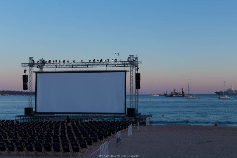 Open-air movie at the sea, LOVE!