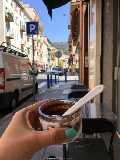 Postcards traveling to Nice, France and falling in love with south of France || Falling for France: Day One