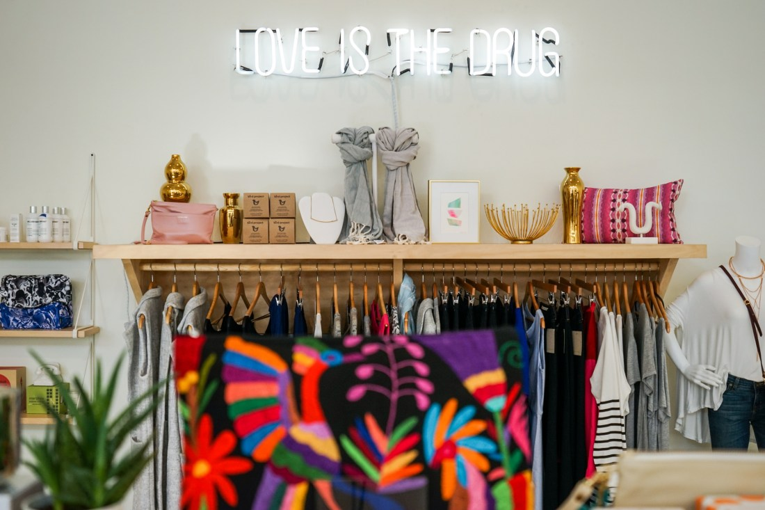 Hattie Sparks is all about modern NOLA style, much like the vibe in the South Market District.