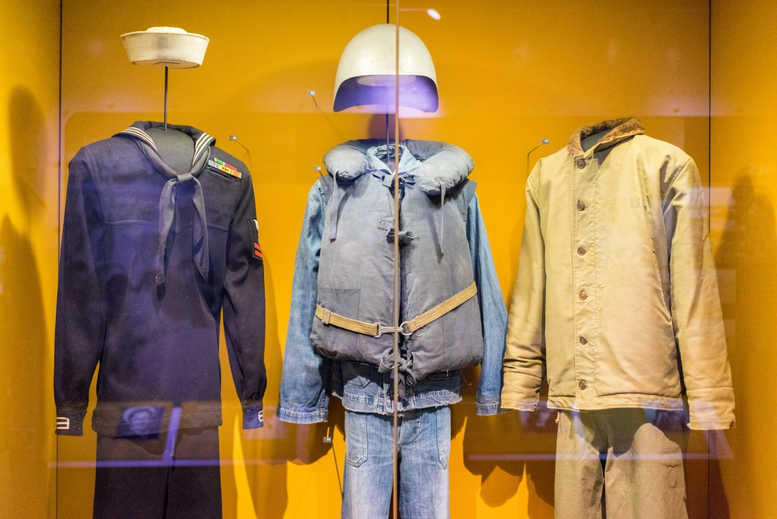 Get up close - more than just the uniforms, the stories behind the uniforms help illuminate a challenging part of our world's history.