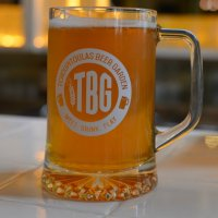 Hoist a stein of beer at TBG. (Photo: Nora McGunnigle)