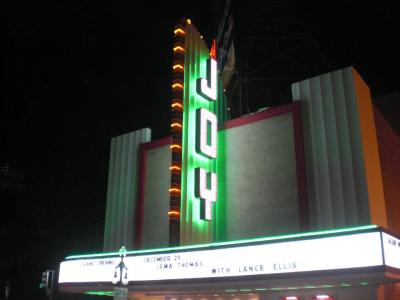 The Joy Theater lights up Canal Street