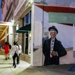 A mural outside the Ashe Cultural Arts Center. (Photo: Rebecca Ratliff)