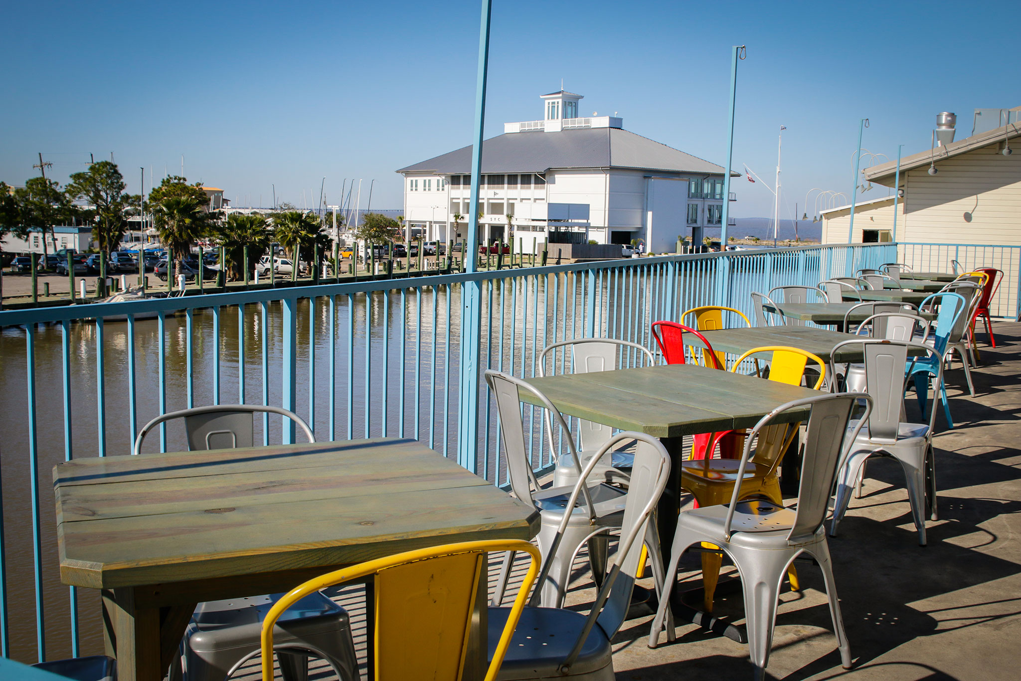 Waterfront Views At Blue Crab Are The Perfect Accompaniment To Fresh  Crawfish (photo: Rebecca Ratliff)