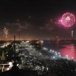 New Year's Eve fireworks. (Photo: Cheryl Gerber)