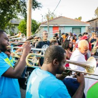 A second line in Central City. (Photo: Rebecca Ratliff)