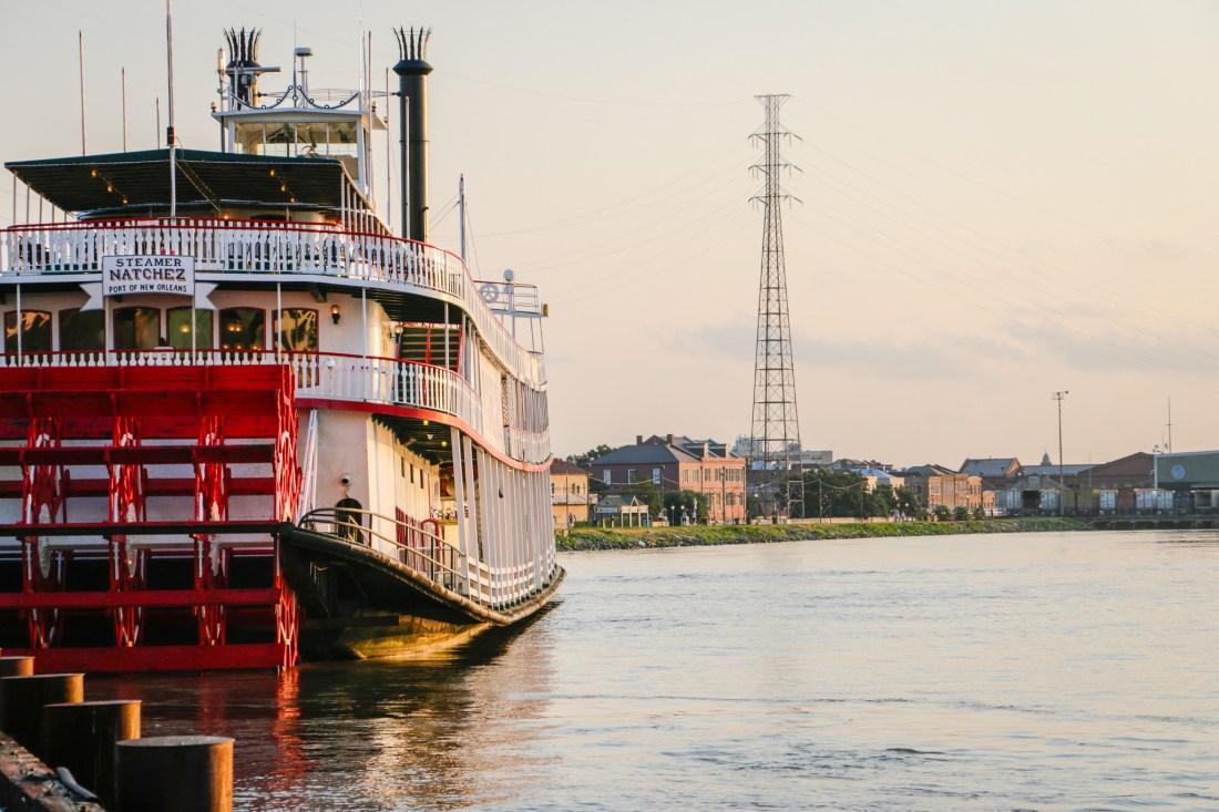 Steamboat Natchez. (Photo: Rebecca Ratliff)