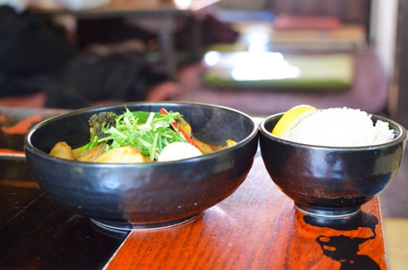 Vegetables in Season Soup Curry of Okushiba Shouten