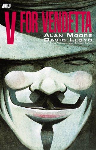 V For Vendetta, Book Cover, Alan Moore,