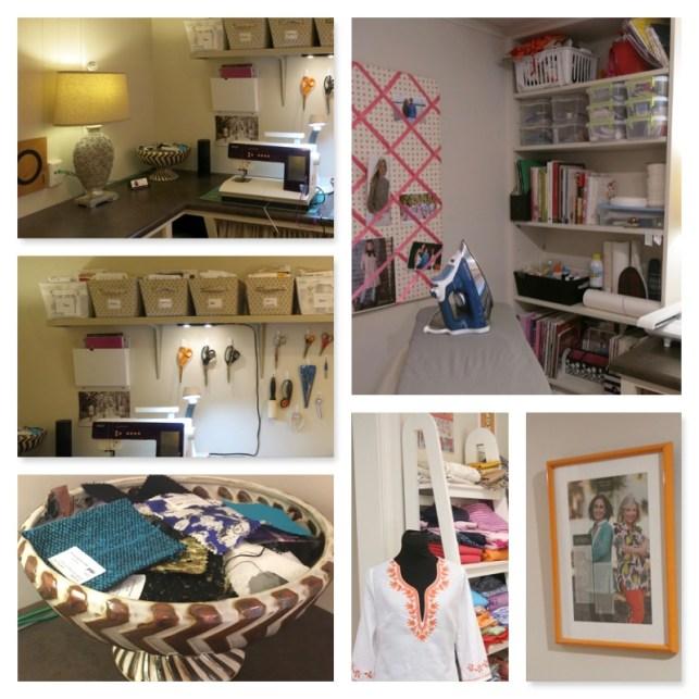 Sarah's sewing room