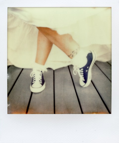 Texas Wedding - SX-70 - Impossible Project PX-70 COOL