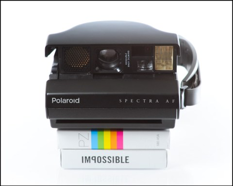 Polaroid Spectra AF - Impossible Project PZ680