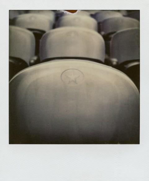 Cowboys Stadium - Polaroid Sonar SX-70 - PX70 COOL