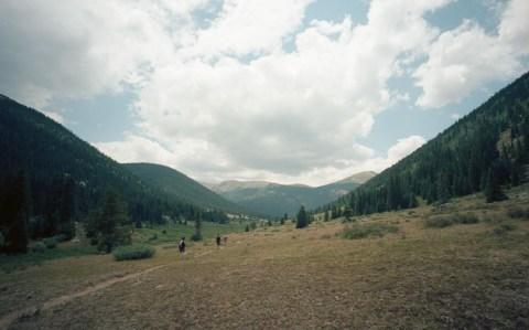 Hiking Lost Man Loop Trail - Leica M2 - Voigtlander 15mm - Ektar 100