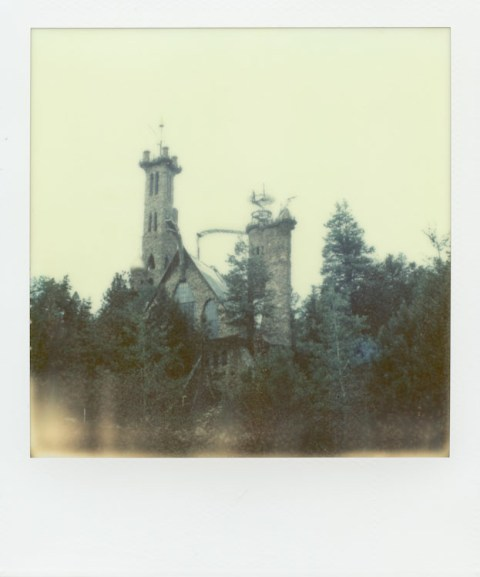 Bishop Castle - Colorado - Impossible Project PX-70 COOL