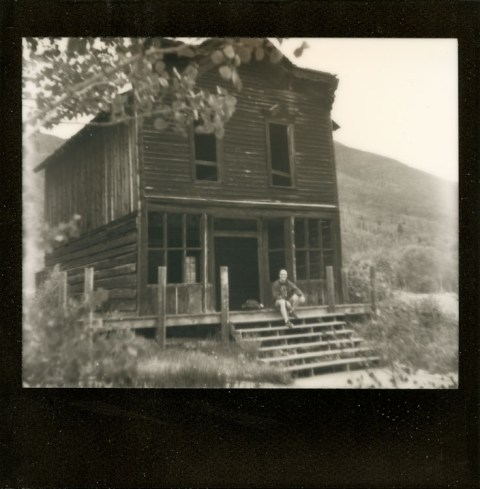 Photo: Synthia Goode - Ashcroft Hotel - Spectra SE - Impossible Project Black Frame PZ600
