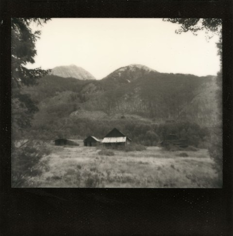 Photo: Synthia Goode - Ashcroft, CO - Spectra SE - Impossible Project Black Frame PZ600