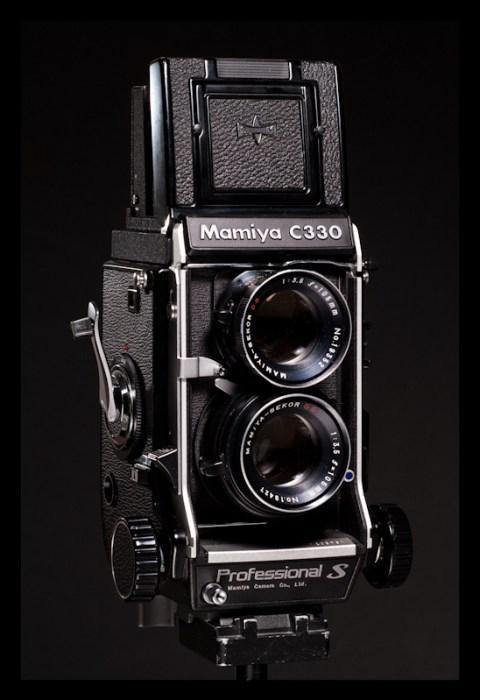 - Mamiya C330S w/ 105mm f/3.5 -