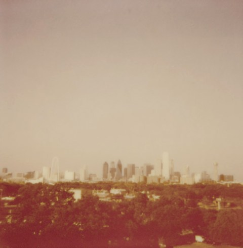 Dallas, TX - Polaroid OneStep Flash - Impossible Project PX-680 V4B