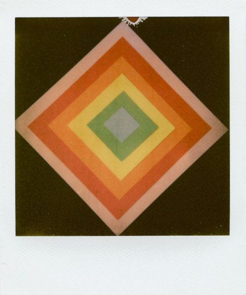 Recreating Paul Giambarba's design on Impossible Project PX-70 COOL
