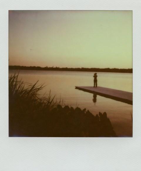 White Rock Lake - Dallas, TX - Impossible Project PX-680 V4C Black Paste Film